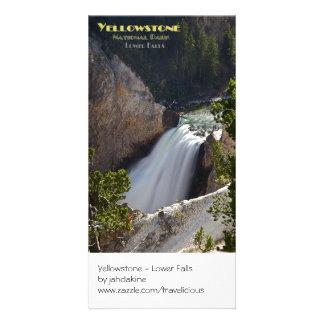 Yellowstone - Lower Falls Brink Card