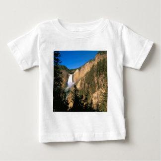 Yellowstone Lower Falls Wyoming Baby T-Shirt
