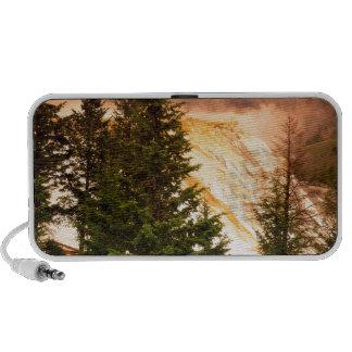 Yellowstone Mammoth Terraces Wyoming iPod Speakers