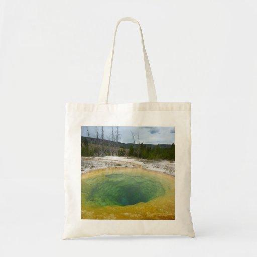 Yellowstone - Morning Glory Tote Bags