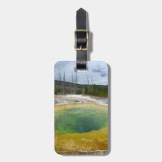 Yellowstone: Morning Glory Pool Luggage Tag