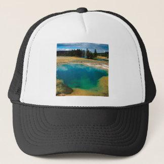 Yellowstone Morning Glory Pool Wyoming Trucker Hat