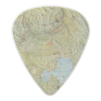 Yellowstone National Park 2 2 Acetal Guitar Pick