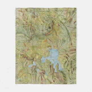 Yellowstone National Park 2 2 Fleece Blanket