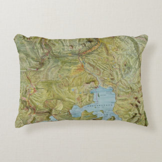 Yellowstone National Park 2 Accent Pillow