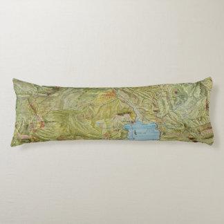 Yellowstone National Park 2 Body Pillow
