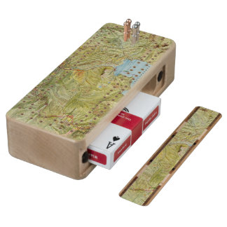 Yellowstone National Park 2 Maple Cribbage Board