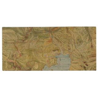 Yellowstone National Park 2 Wood USB 2.0 Flash Drive