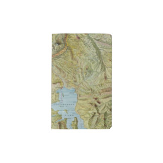 Yellowstone National Park 2 Pocket Moleskine Notebook Cover With Notebook