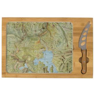Yellowstone National Park 2 Rectangular Cheese Board