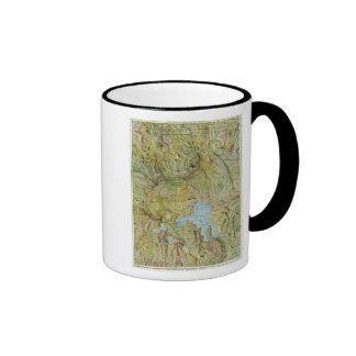 Yellowstone National Park 2 Ringer Coffee Mug