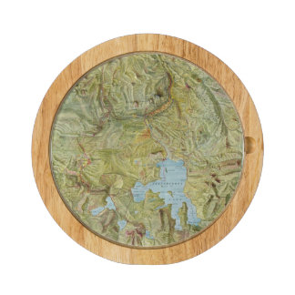 Yellowstone National Park 2 Round Cheese Board