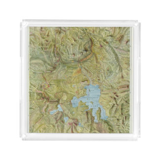 Yellowstone National Park 2 Square Serving Trays