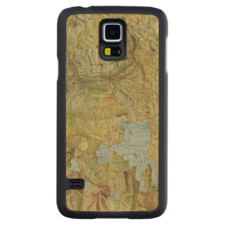 Yellowstone National Park 2 Carved® Maple Galaxy S5 Case