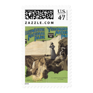 Yellowstone National Park 3 Postage