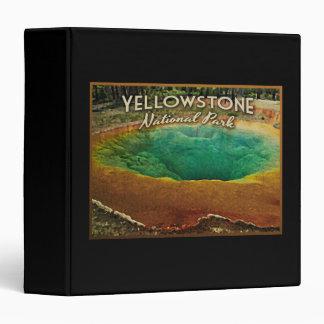 Yellowstone National Park Binder