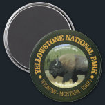 """Yellowstone National Park (bison) Magnet<br><div class=""""desc"""">Yellowstone National Park</div>"""