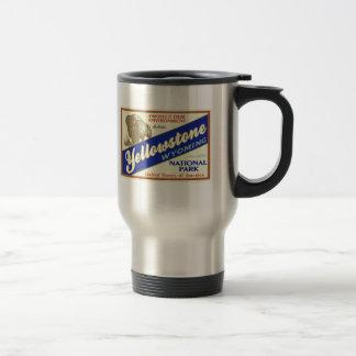 Yellowstone National Park (Buffalo) Travel Mug