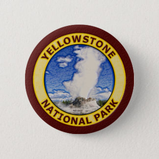 Yellowstone National Park Button