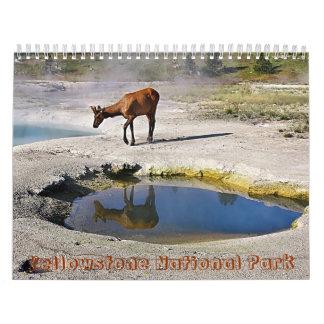Yellowstone National Park Calendar