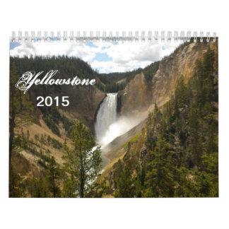 Yellowstone National Park Calendar  2015