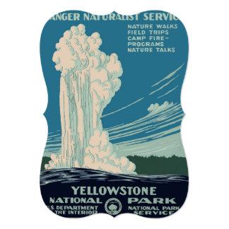 Yellowstone National Park Card