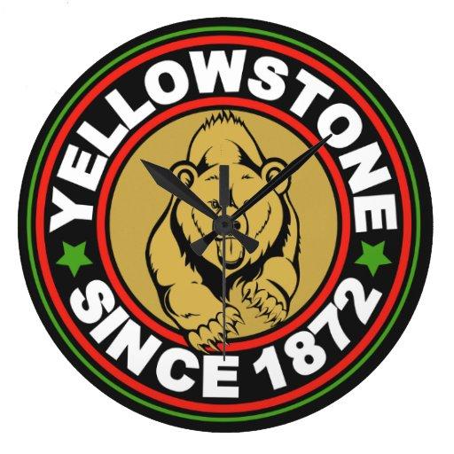 Yellowstone National Park Clock