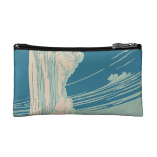 Yellowstone National Park Cosmetic Bag