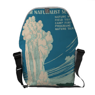 Yellowstone National Park Courier Bag