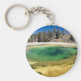 Yellowstone National Park Customizable Gifts Key Chains