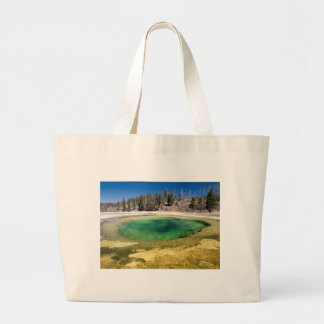 Yellowstone National Park Customizable Gifts Large Tote Bag