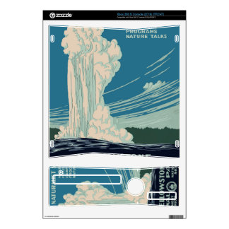 Yellowstone National Park Decals For Xbox 360 S