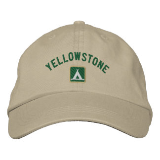 Yellowstone National Park Embroidered Baseball Hat