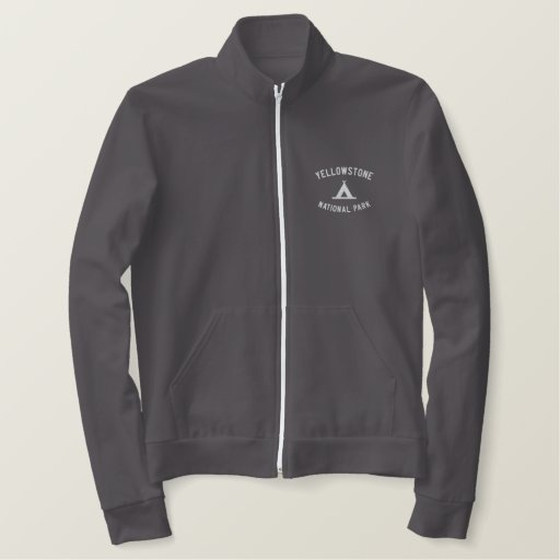 Yellowstone National Park Embroidered Jacket