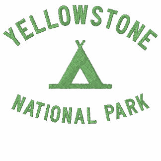 Yellowstone National Park Embroidered Hoody
