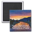 Yellowstone National Park Fridge Magnet