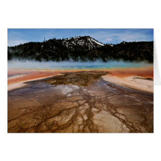 YELLOWSTONE NATIONAL PARK, GRAND PRISMATIC CARD