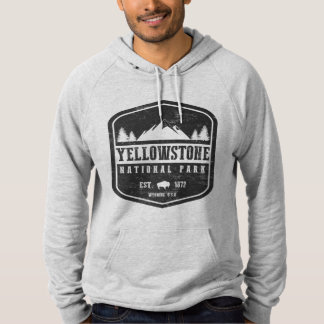 Yellowstone National Park Hooded Pullover
