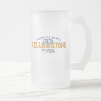 Yellowstone National Park in National Park Mugs