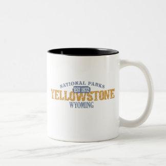 Yellowstone National Park in National Park Mug