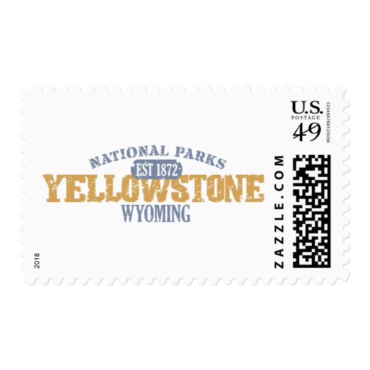 Yellowstone National Park in National Park Postage