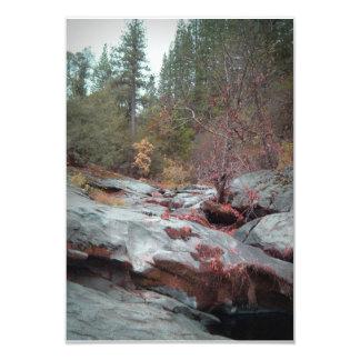 "Yellowstone National Park 3.5"" X 5"" Invitation Card"