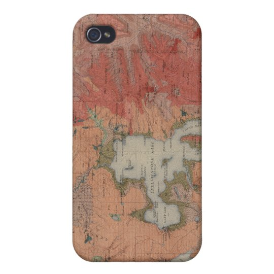 Yellowstone National Park iPhone 4 Cover