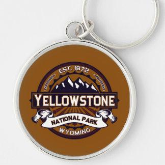 Yellowstone National Park Keychain
