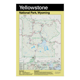 Yellowstone National Park Large Poster
