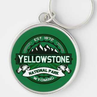 Yellowstone National Park Logo Key Chains