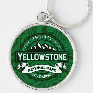 Yellowstone National Park Logo Keychains