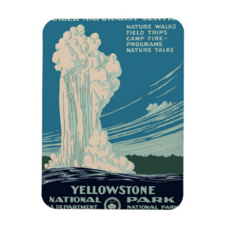 Yellowstone National Park Magnet