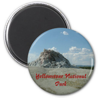 Yellowstone National Park Refrigerator Magnet