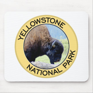 Yellowstone National Park Mouse Pad